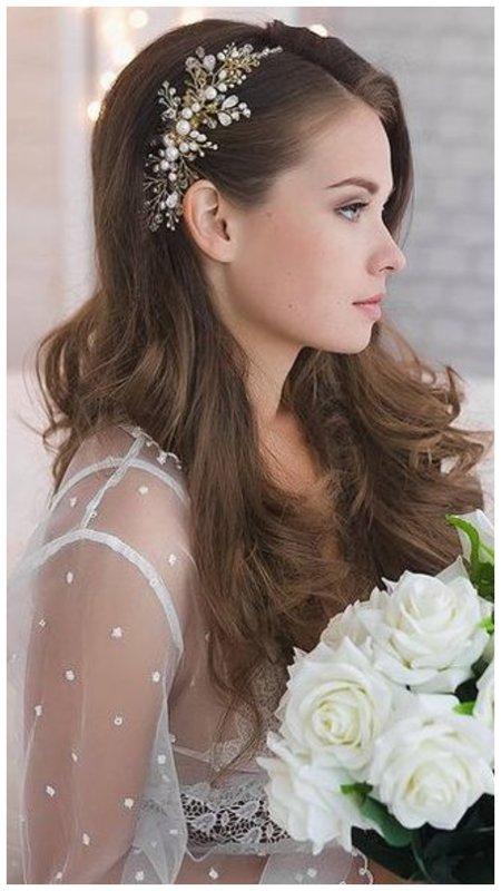 Фото свадебная укладка на брашинг