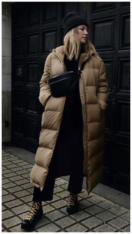 Пуховик на зиму 2021 фото