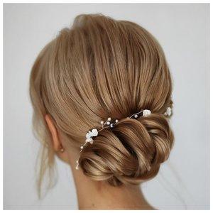 Красивые свадебные украшения для волос