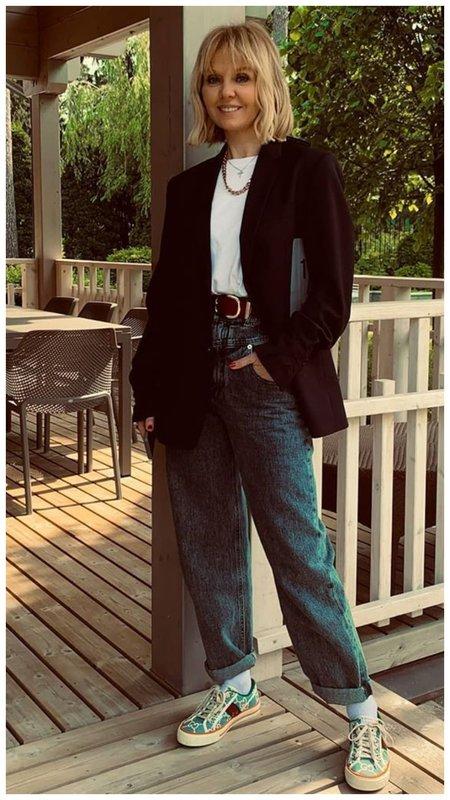 Валерия и джинсы слоучи