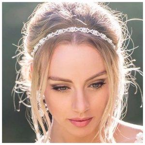 Как убрать челку невесте