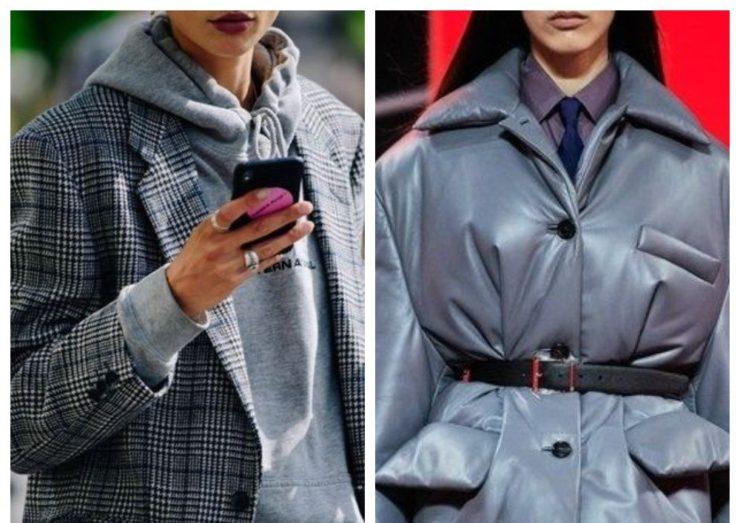 Модная верхняя одежда осень зима 2021 фото