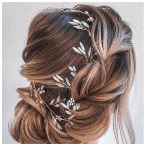 Невеста с красивой косой
