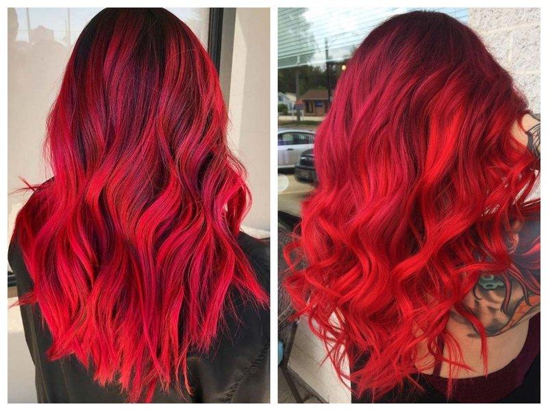 Рубиновые волосы