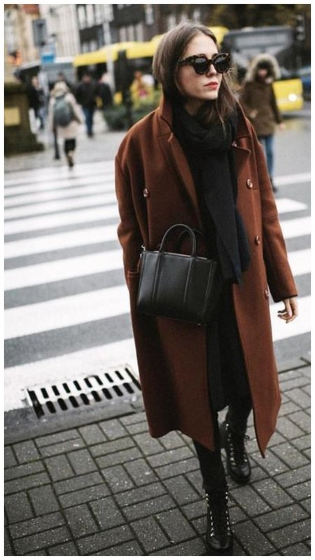 Фото модное пальто осень 2020-2021