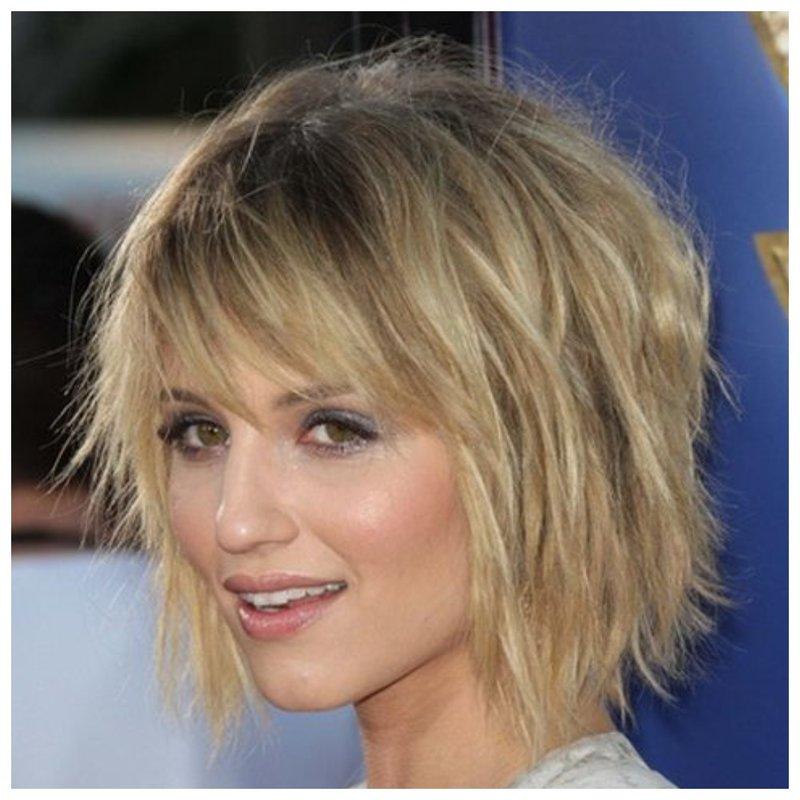 Фото стрижка шегги для коротких волос
