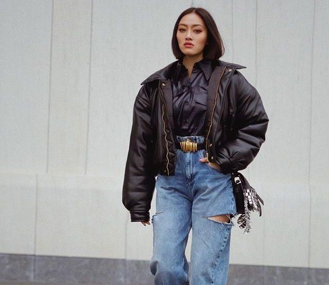 Самые модные джинсы осень 2020 фото