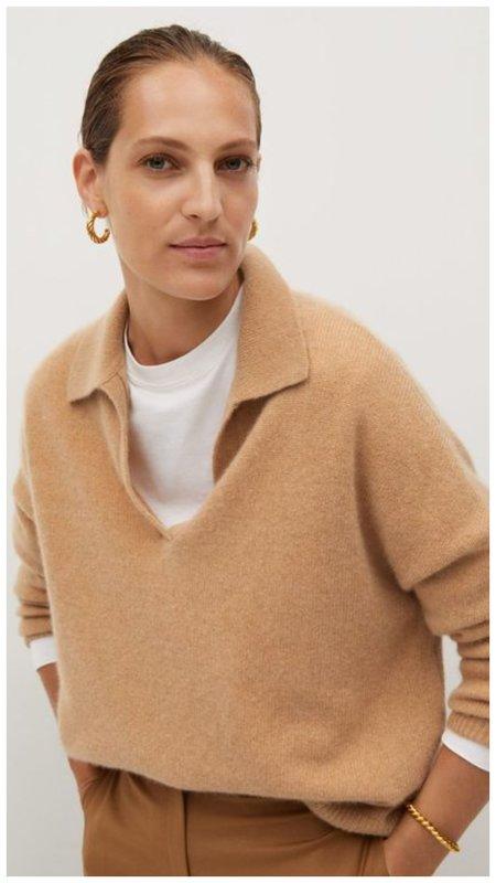 Модный свитер поло