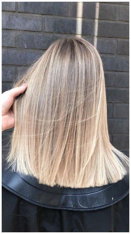 Мелирование на волосы средней длины