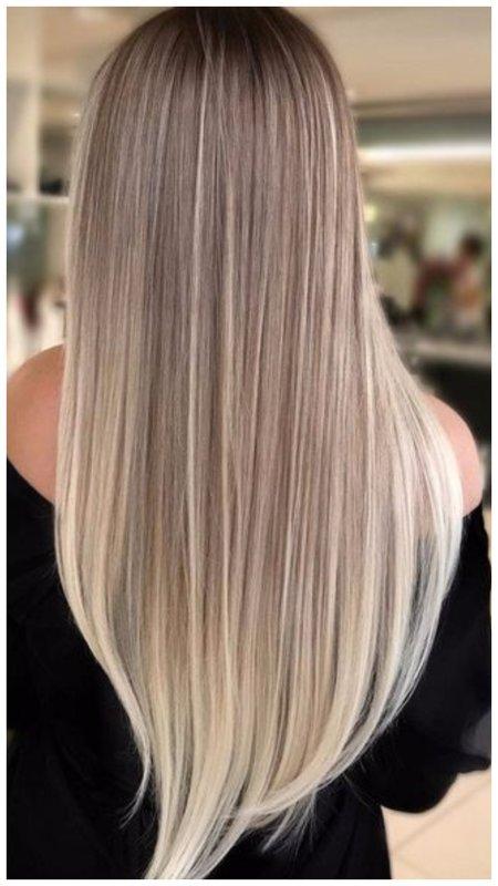 Аккуратное мелирование для длинных волос