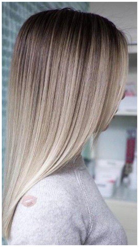 Мелирование частое на русые волосы фото