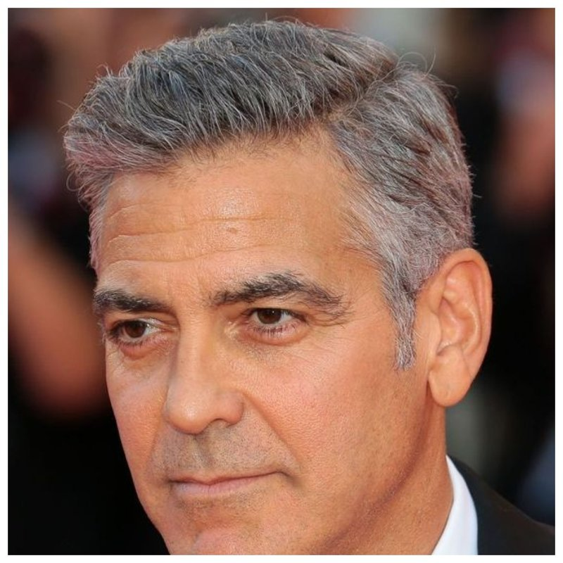 Джордж Клуни стрижка фото