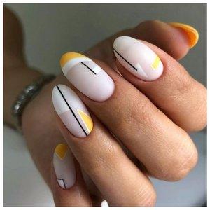 Дизайн для ногтей полосы