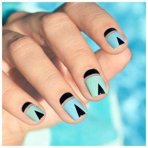 Оригинальный дизайн для ногтей с лунками