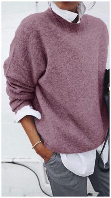 Красивый повседневный свитер