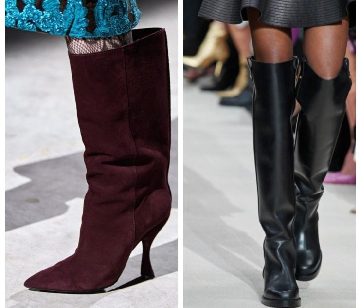 Модные сапоги осень-зима 2020-2021