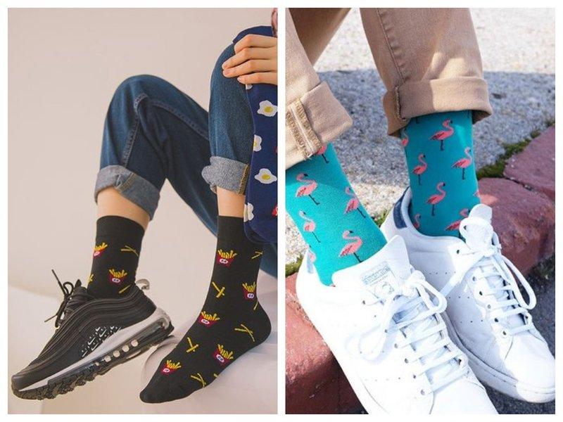 Как модно носить кроссовки