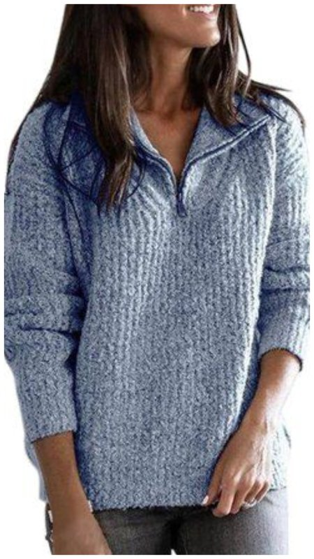 Как носить папин свитер