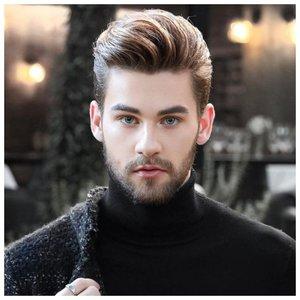 Стрижка волосы наверх мужская