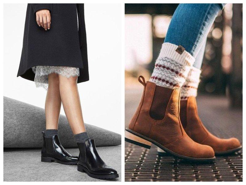 Как модно носить ботинки