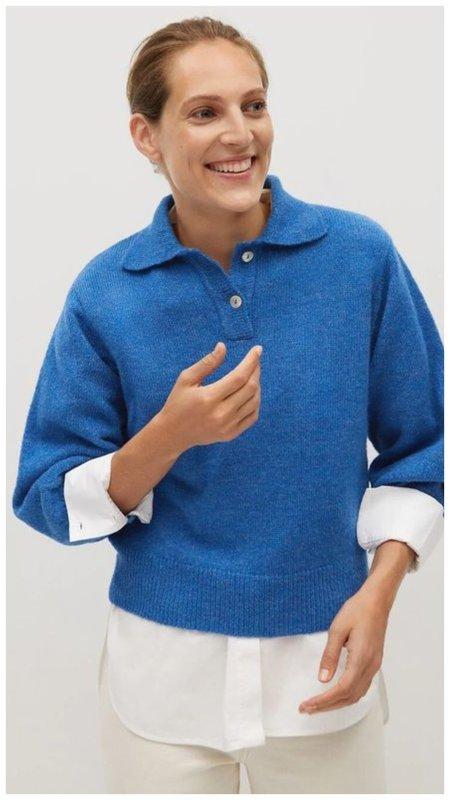 Женский свитер поло