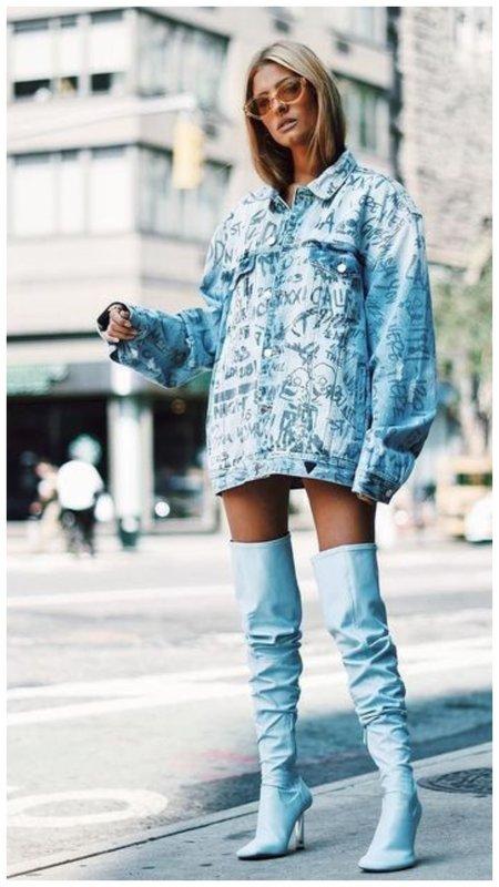 Модные ботфорты осень зима 2020-2021