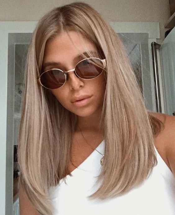 Красивое окрашивание волос