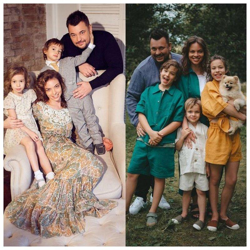 Сергей Жуков с семьей: фото