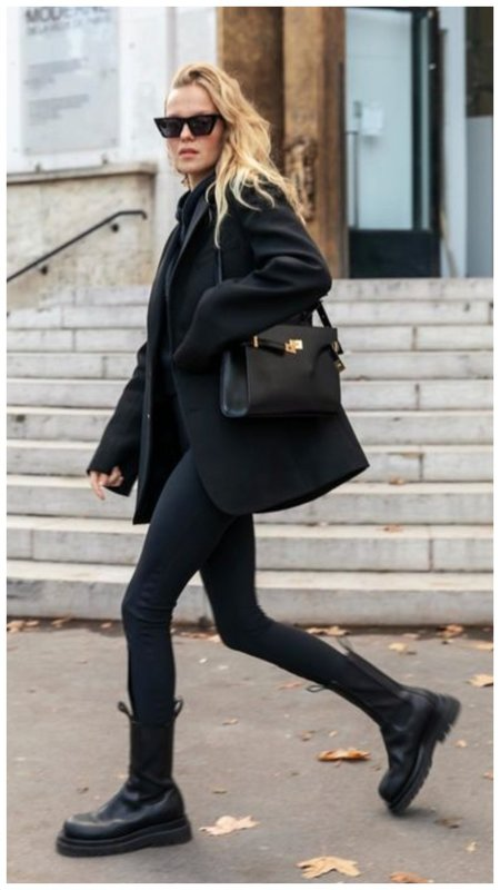 Как модно носить грубые ботинки