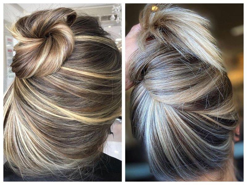 Красивое окрашивание для длинных волос