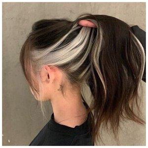 Контуринг на темные волосы