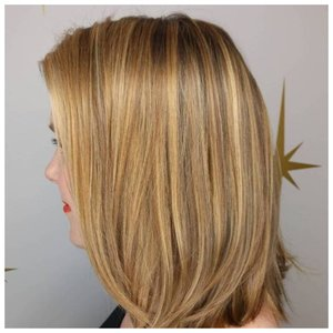 Золотистый оттенок волос фото
