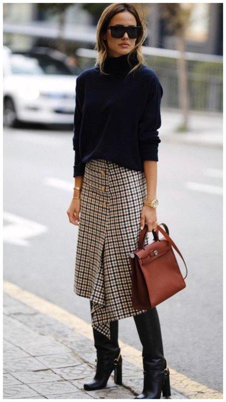 Как модно одеться осенью