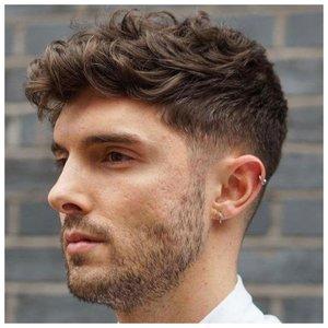 Короткая стрижка для кудрявых волос