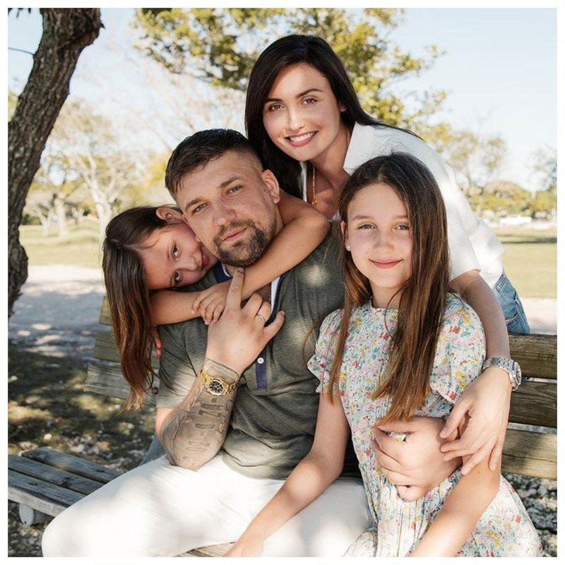 Баста с семьей фото