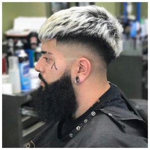 Мужское мелирование на короткие волосы