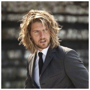 Мужское мелирование на длинные волосы