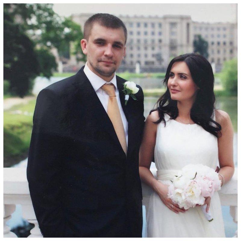 Баста свадебное фото