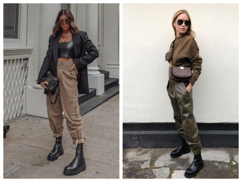 Армейский стиль в одежде