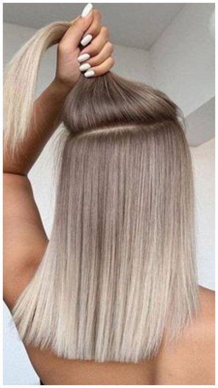 Красивый оттенок волос