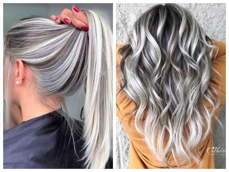 Мелирование для длинных волос