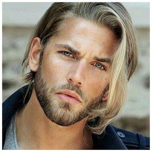 Мужское мелирование на прямые волосы