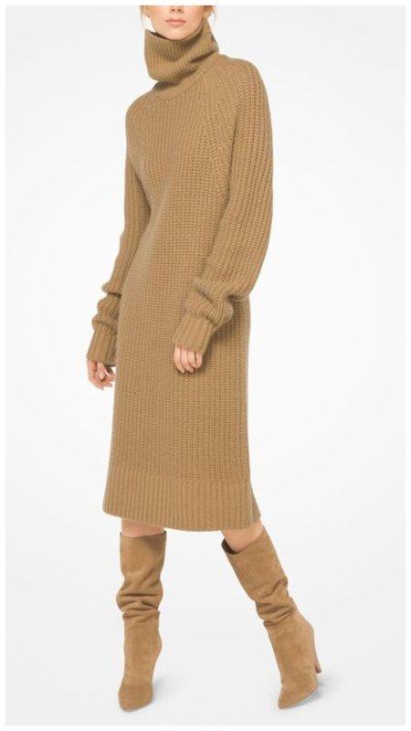 Модное миди платье из трикотажа