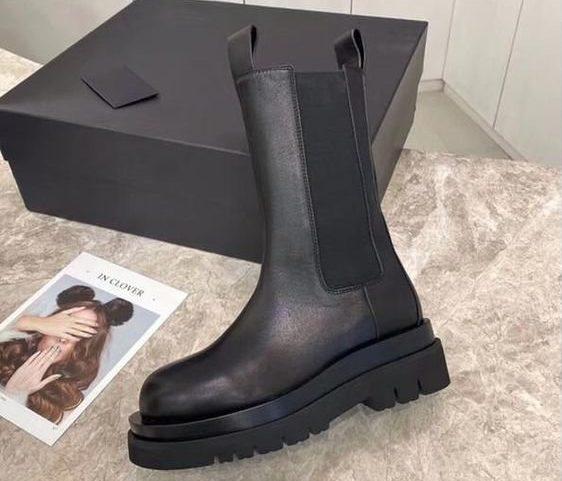 Самые модные ботинки - грубые челси