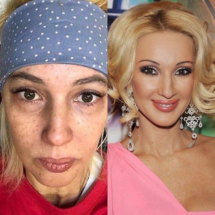 Лера Кудрявцева без макияжа фото