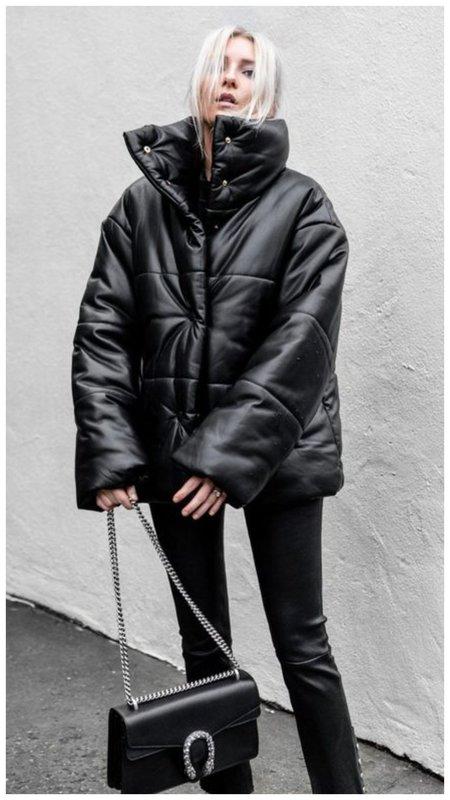 Зимний наряд с пуховиком