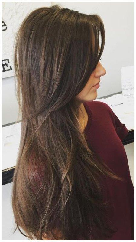 Как постричь длинные волосы