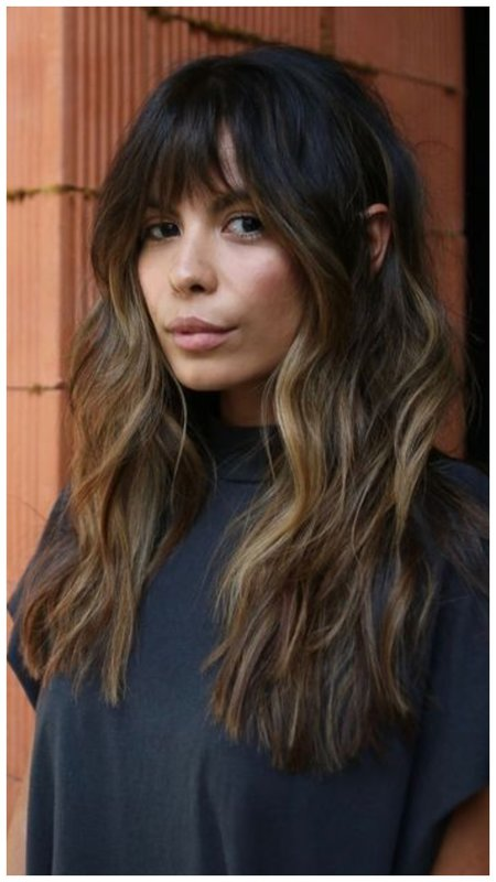 идея для стрижки, если волосы длинные