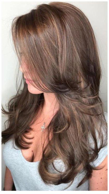 Укладка для длинных волос