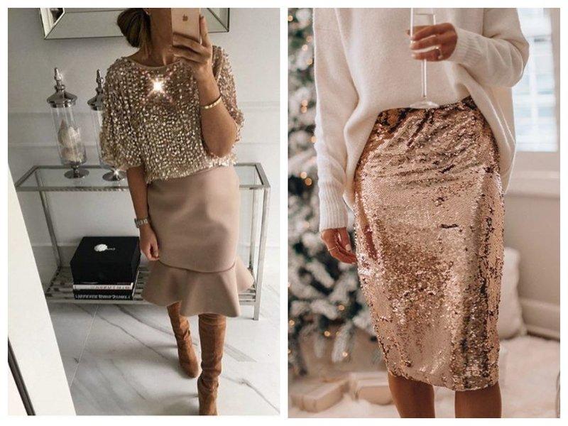 Праздничные юбки на Новый год 2021